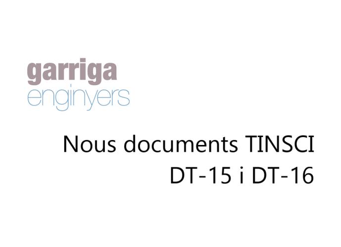 Publicat nous documents TINSCI DT-15 i DT-16