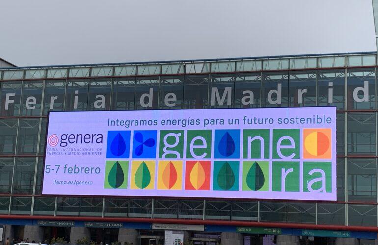Feria Internacional de energía y medio ambiente, visita GENERA 2020