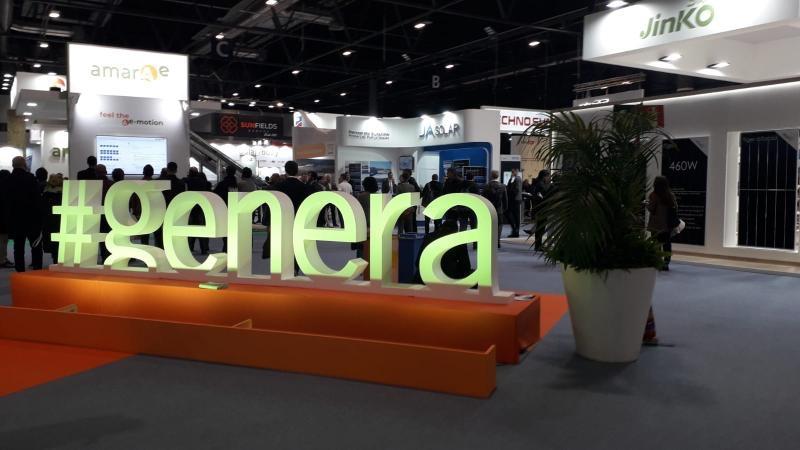 Visita al GENERA 2020, Feria Internacional de energia y medio ambiente